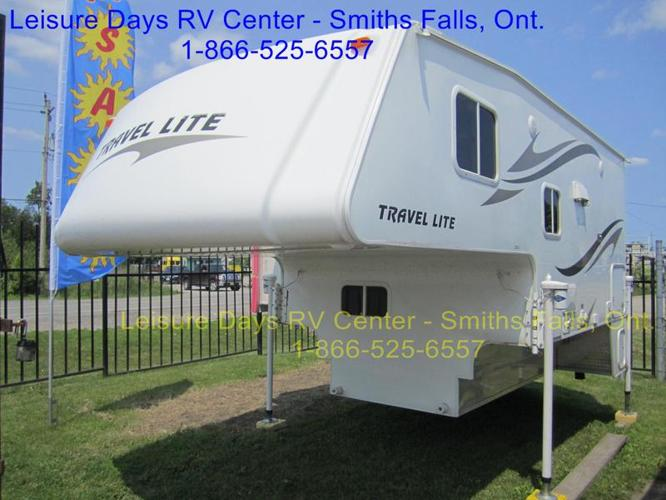 2010 Travel Lite Truck Campers 1000SLRX Ultra Series
