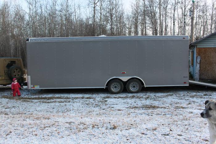 2011 24' forest river cargo trailer