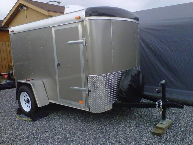 Utility Trailers For Sale Ontario >> 2011 Atlas 5x8 Utility Trailer FIRM for sale in Guelph ...