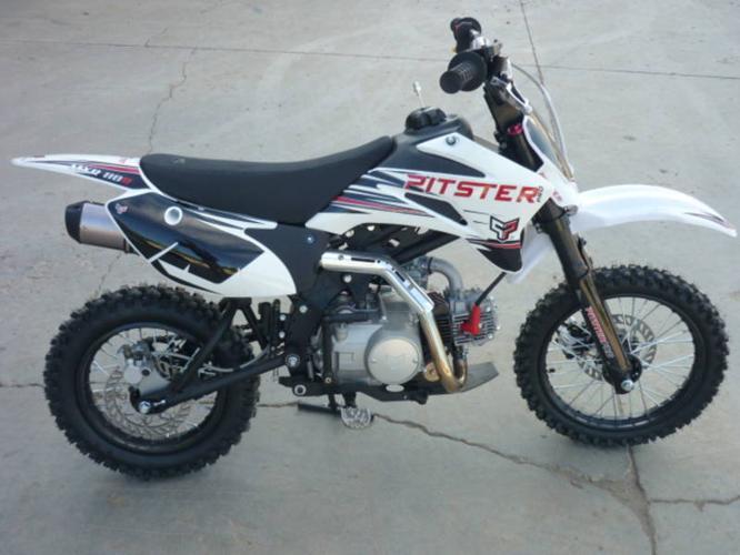 2012 110 MX Pitster Pro like a Kawasaki KLX 110