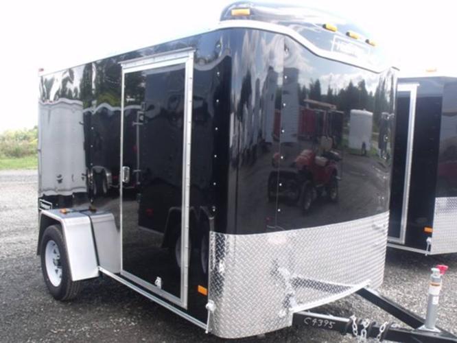 2012 6X10DS2 TRANSPORT CARGO TRAILER BY HAULMARK (#C4395)