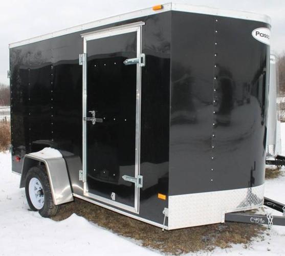2012 HAULMARK 6' WIDE X 10' LONG CARGO TRAILER (#C4546)