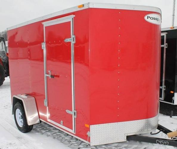 2012 HAULMARK 6X10DS2 CARGO TRAILER (#C4547)
