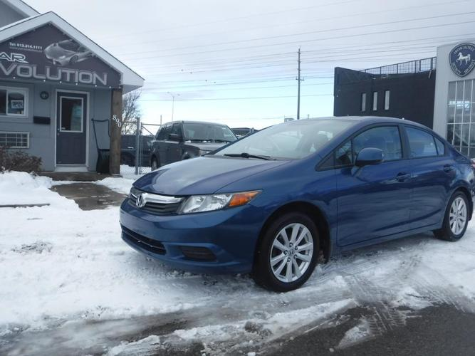 2012 Honda Civic EX ROOF/MAGS/128km, CERTIFIED+WRTY $9990