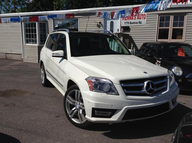 2012 Mercedes-Benz GLK 350 - double sunroof