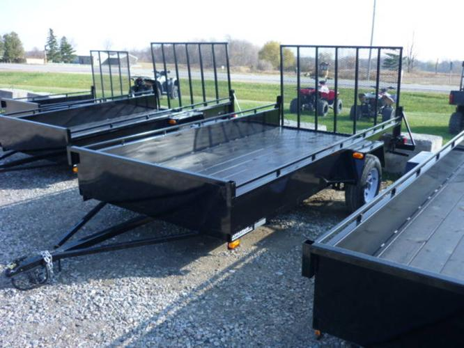 2012 New Utility trailer with rear ramp 6x12