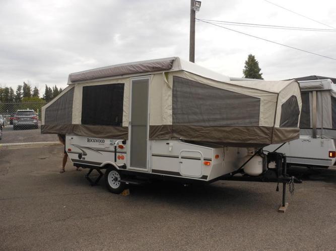 2012 Rockwood 1910 Tent Trailer