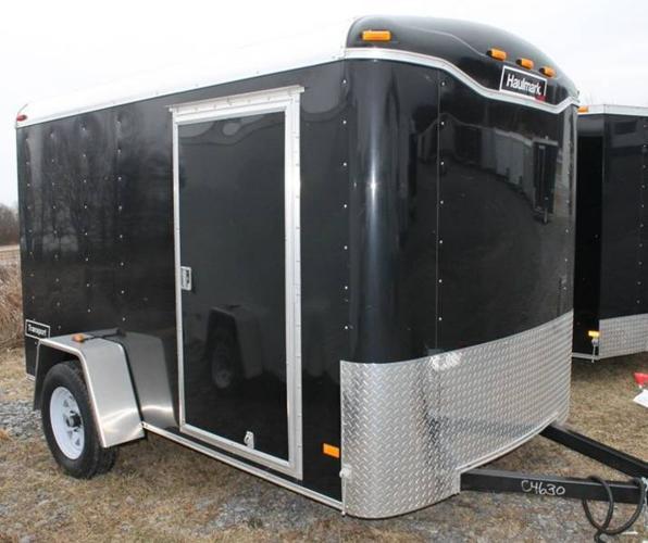 2012 TRANSPORT CARGO TRAILER 6X10DS2 (#C4630)