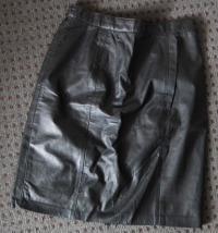 $20 Genuine Black Leather Skirt