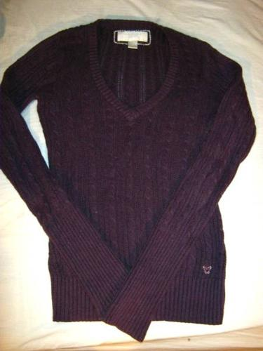 3 American Eagle Sweaters- Medium