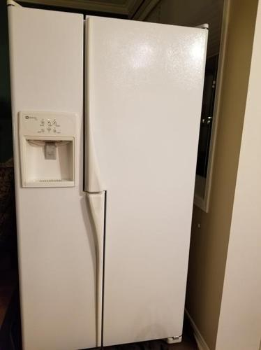 36 inch Maytag Plus Refrigerator with water/ice dispenser
