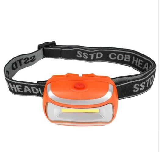 3W Compact Waterproof Head Strap LED Flashlight Headlight 3 Mode