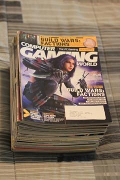 $40 OBO Computer Gaming World Magazines (Years 2003-2006)