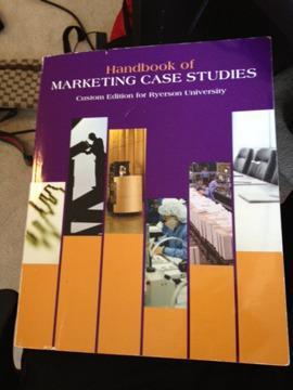 $40 OBO Handbook of Marketing Case Studies MKT600