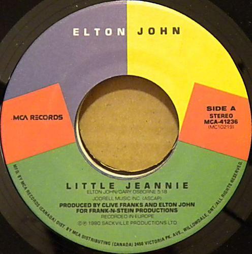 45 RPM Records - Eighties Rock Jukebox