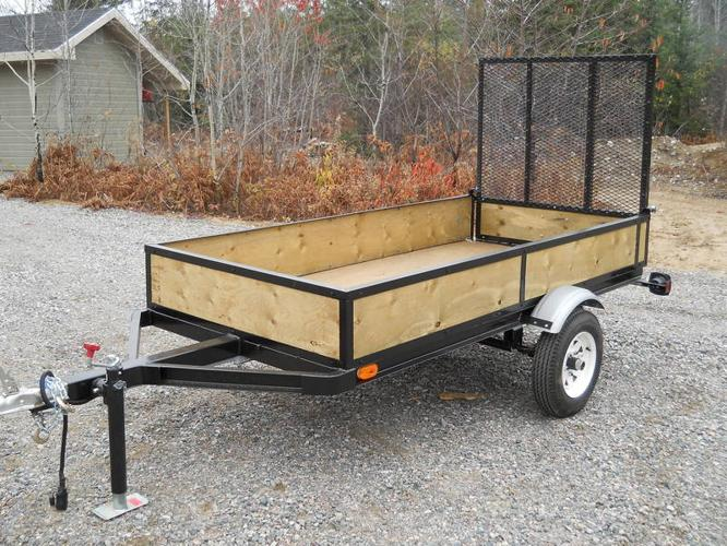 Utility Trailers For Sale Ontario >> 4x8 Utility Trailer For Sale In New Liskeard Ontario Ads