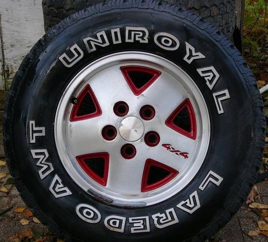 5 Gmc Chevy Rims 4x4 15
