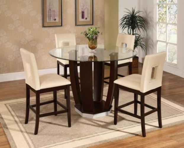 5 piece dining set pub or kitchen style start from for for Pub style dining sets