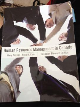 $50 OBO MHR523 Human Resources Management in Canada