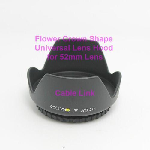 52mm Flower Shape Lenses Hood For Many Canon Nikon