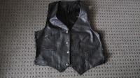 $55 Vintage Italian Leather Front Vest