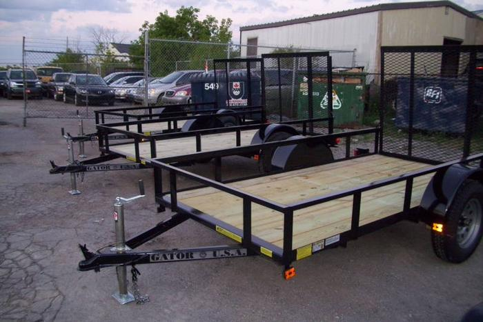 5x10 UTILIT OPEN TRAILER AT BROTHER'S TRAILERS (TORONTO,VAUGHAN)