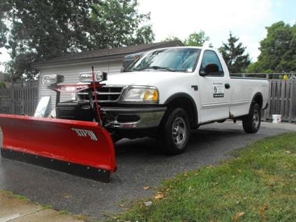 $6,500 OBO 98 Ford F150 with Plow