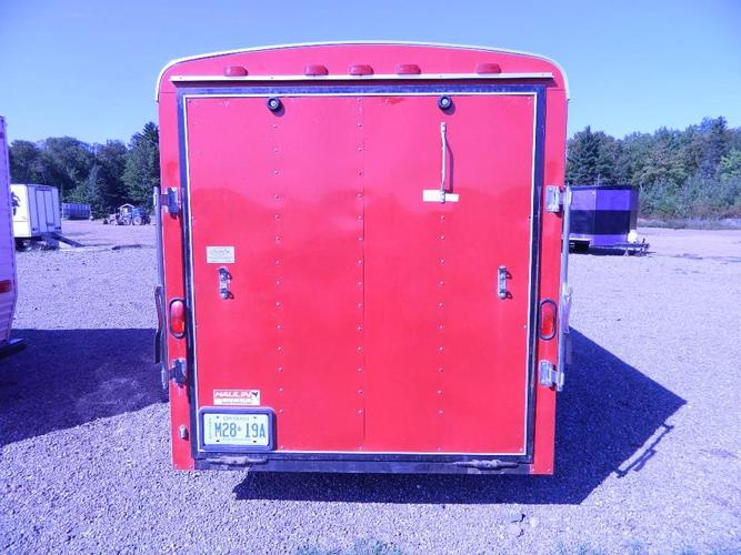 6x12 Red Haulin Trailer/ Camper