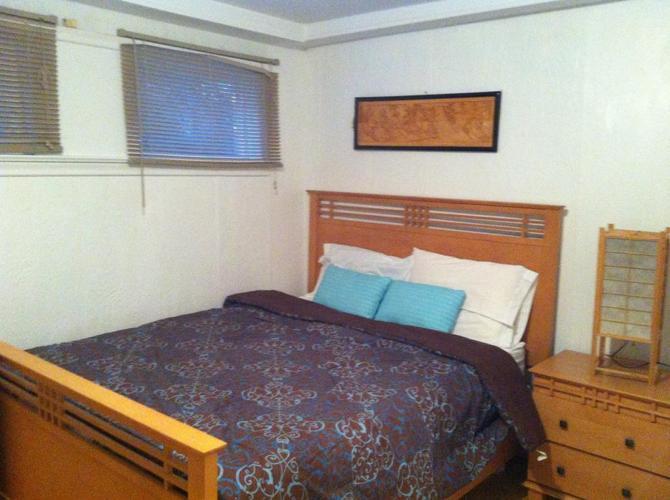 8 piece solid birch wood bedroom set