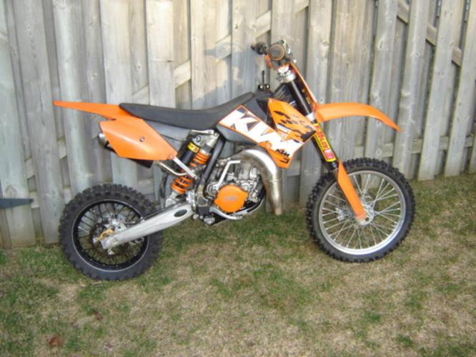 85 ktm sx for sale in cambridge ontario ads in ontraio. Black Bedroom Furniture Sets. Home Design Ideas