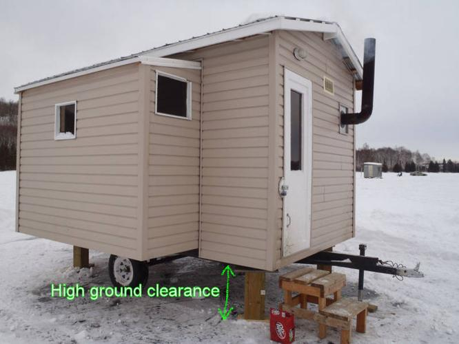 Ice Fishing House For Sale