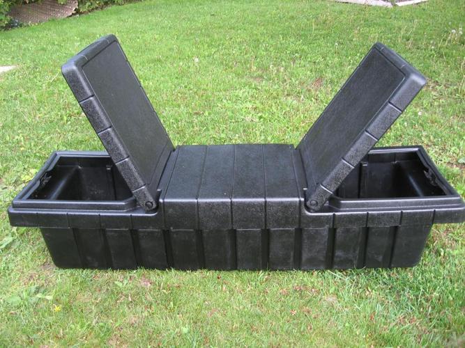 $90 · 2 cargo box holders
