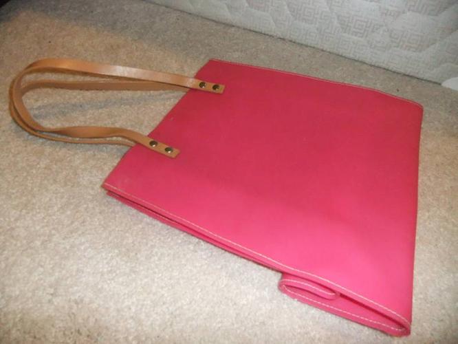 A Simple Pink Plastic Sturdy Bag!