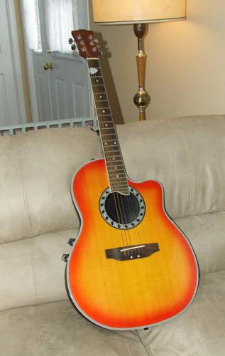 Acoustic Ovation Electric Hyburn Guitar