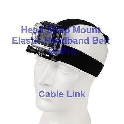 Adjustable Elastic Head Belt Strap Sport Mount for GoPro