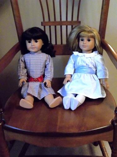 American Girl Doll Samantha And Nellie Best Friends - Mint Condition