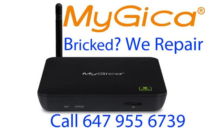 Android TV, MyGiCa TV Box, No Power Repair