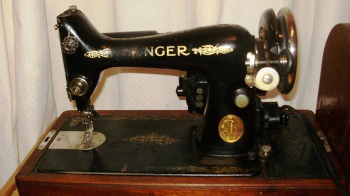 1939 singer sewing machine