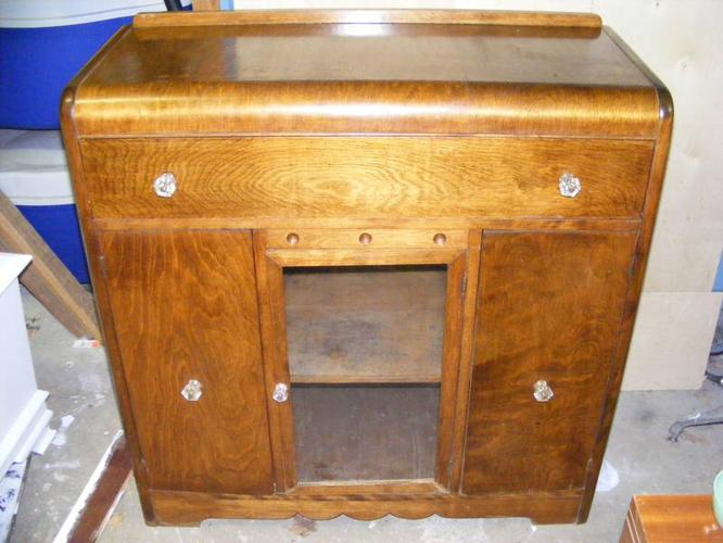 ANTIQUE WATERFALL STYLE BUFFET