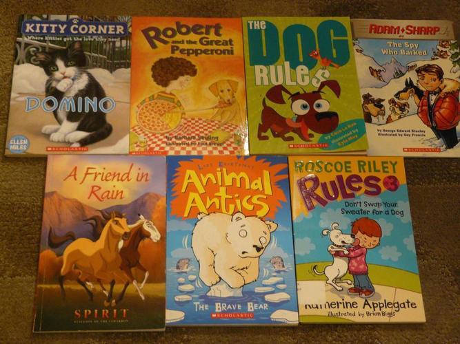 Assortment of Books - 7 books for $5