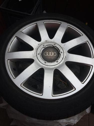 Audi A4 rims and winter tires for sale