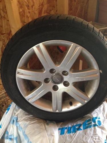 Audi Tires on Audi Rims x 4