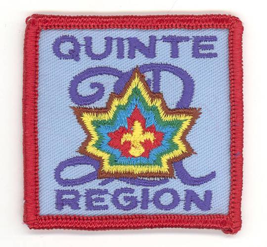 Badge - Scouts Canada - Quinte Region