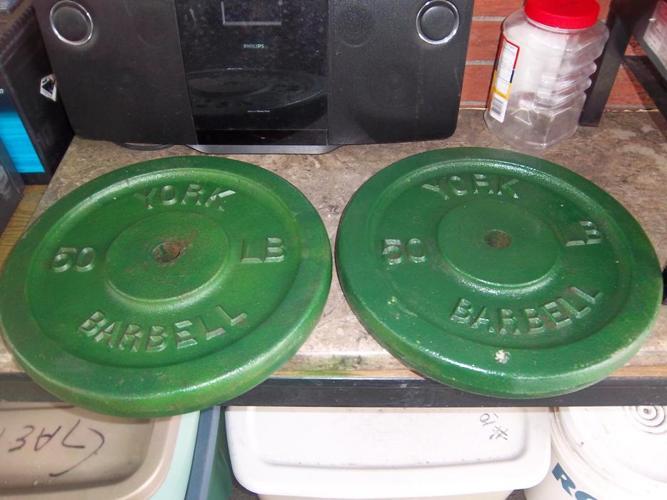 Barbells 2 X 50 lbs