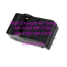 Battery Charger For SONY NP-F550 NP-F750 NP-F960 NP-F970