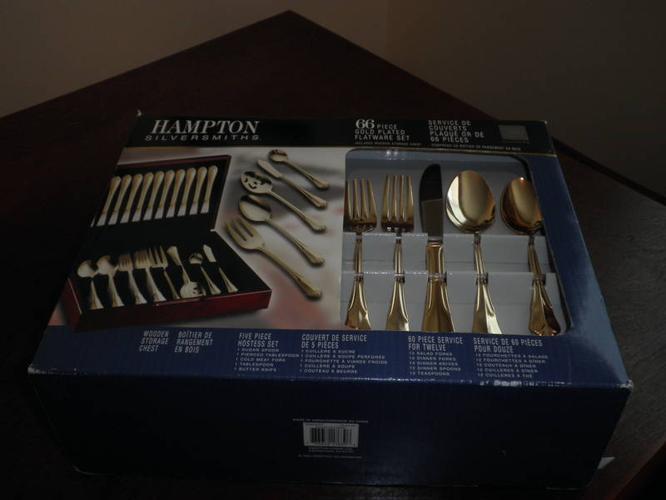 Beautiful Gold Plated Set...!!
