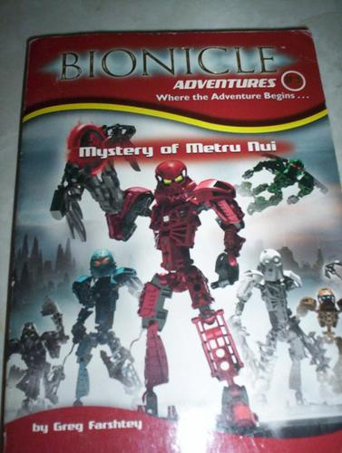 Bionicles Book and Toys