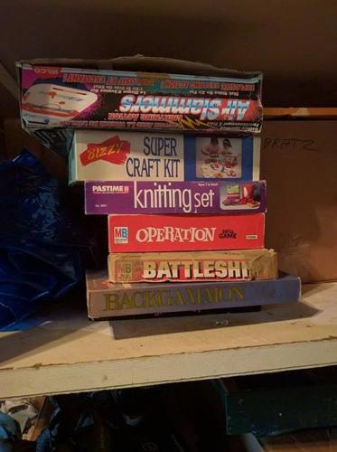Board games and Bratz for sale