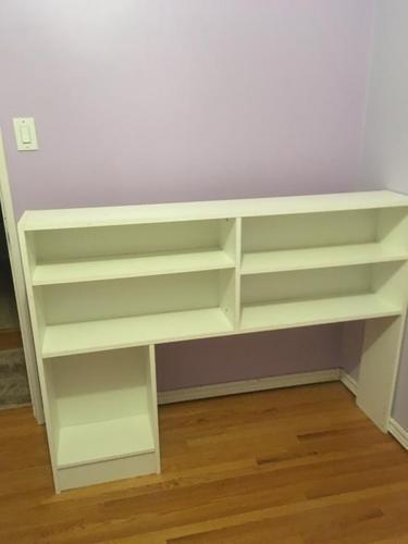 Bookshelf with Single Bed Insert - Must go!!