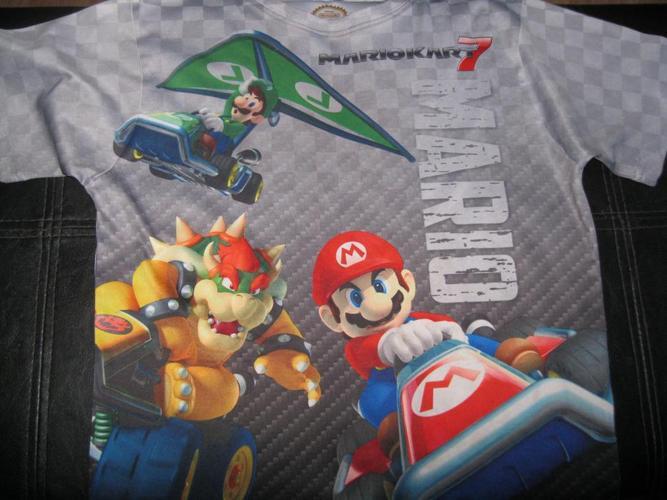 Boys MARIO t-shirt - size 7/8